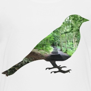 Forest Bird - Teenage Premium T-Shirt