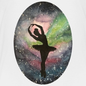 Ballerina in the Universe - Teenage Premium T-Shirt