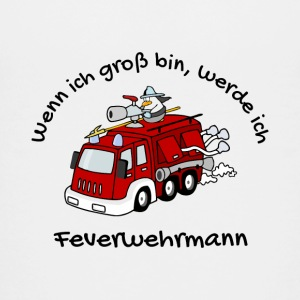 firefighter - Teenage Premium T-Shirt