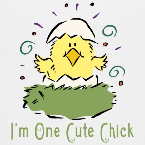 Easter I Am One Cute Chick - Teenage Premium T-Shirt