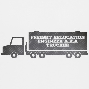 Trucker / vrachtwagenchauffeur: Freight Relocation Engineer - Teenager Premium T-shirt