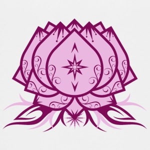 Lotus Flower, Yoga, floral, buddhism, symbol, star - Teenage Premium T-Shirt