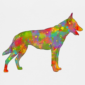Belgischer Schäfer Malinois Multicolor - Teenager Premium T-Shirt