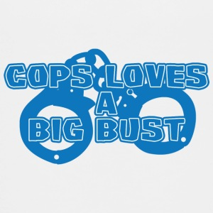 Politi: Politiet Loves A Big Bust - Teenager premium T-shirt