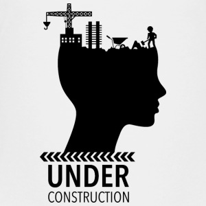 Brain Under Construction | tonåren - Premium-T-shirt tonåring