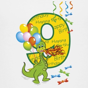 Ninth birthday 9 year old dragon - Teenage Premium T-Shirt