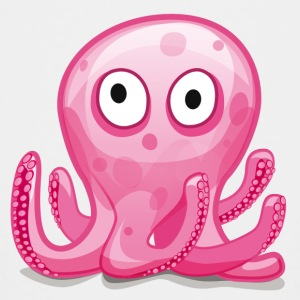 Octopus Baby - Teenage Premium T-Shirt