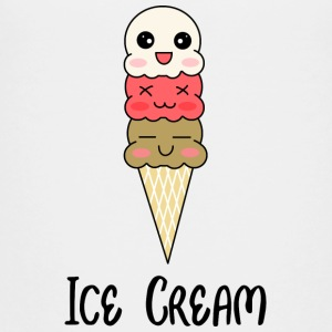 ice cream - Teenage Premium T-Shirt