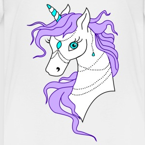 Unicorn Purple - Premium T-skjorte for tenåringer