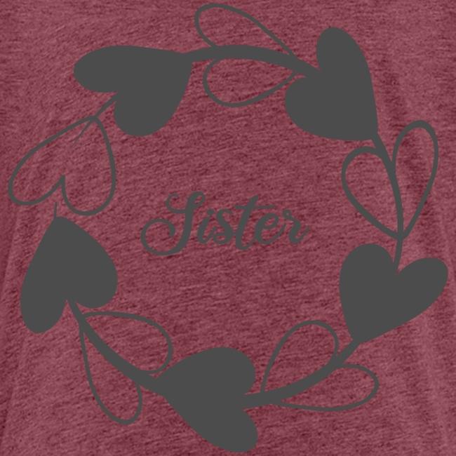 Sister Schwester liebe wie Schwestern