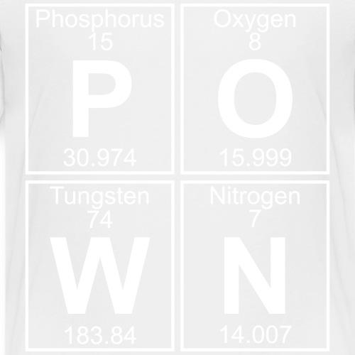 P-O-W-N (pown) - Full - Teenage Premium T-Shirt