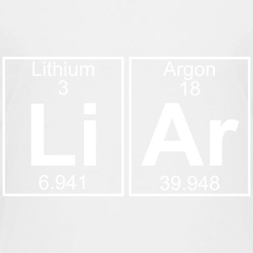 Li-Ar (liar) - Full - Teenage Premium T-Shirt