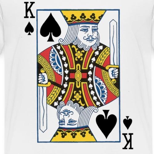Roi de Pique (ventral) - T-shirt Premium Ado
