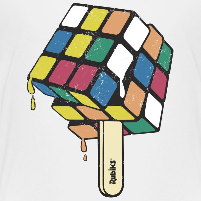 Rubik's Cube Ice Lolly