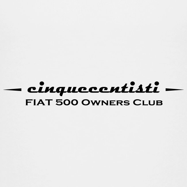 Cinquecentisti 500 Owners Club Vector