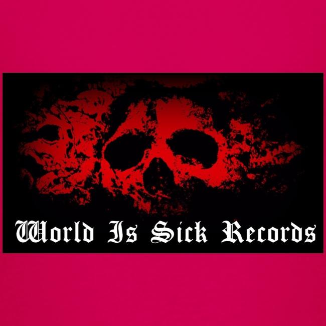 World Is Sick Skull Huppari