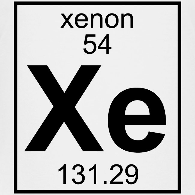 Xenon (Xe) (element 54)