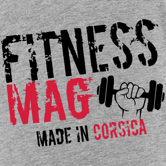Fitness Mag made in corsica 100% Polyester