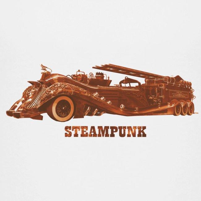Steampunk Feuerwehr Retero Futurismus