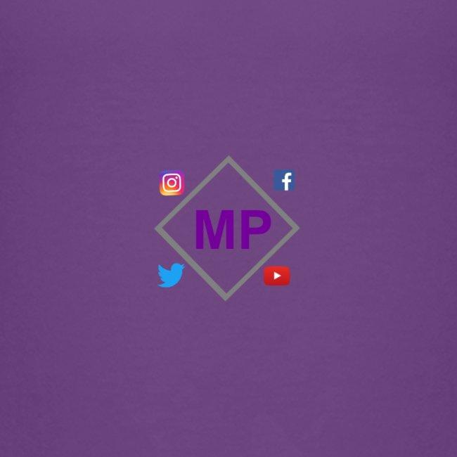 MP logo with social media icons
