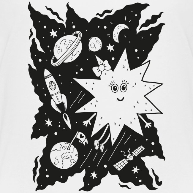 Stella Stern zum Ausmalen