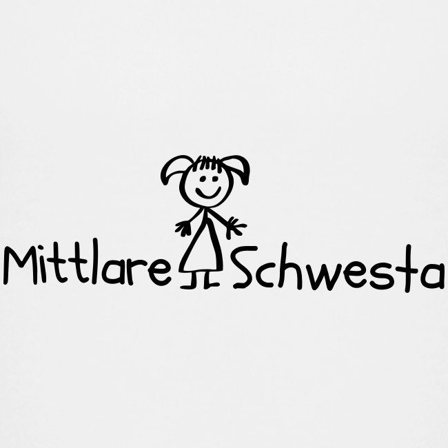 Mittlare Schwesta - Teenager Premium T-Shirt