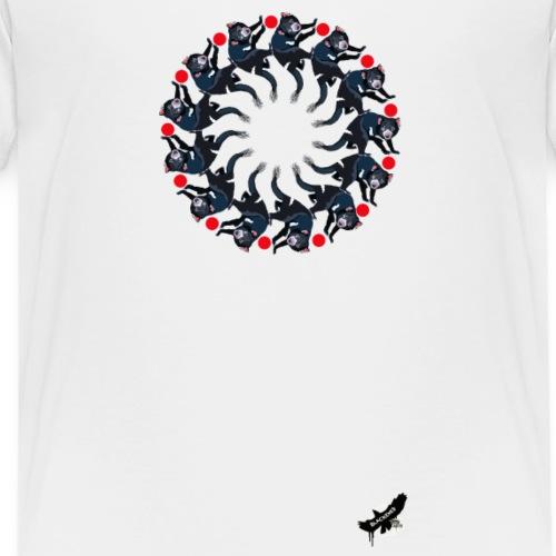 'Tasmanian Devil Mandala' by BlackenedMoonArts - Teenager premium T-shirt