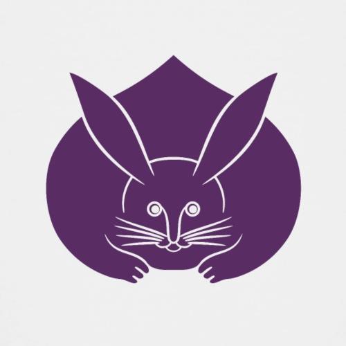Usagi kamon japanese rabbit purple - Teenage Premium T-Shirt