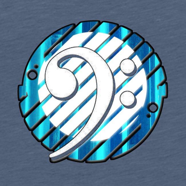 BassClef blue/white