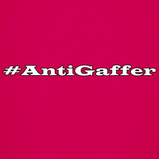 Antigaffer Hashtag