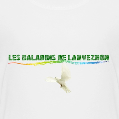 Lanvezhon Colombe - T-shirt Premium Ado