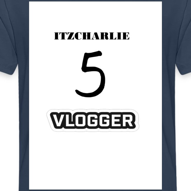 ITZCHARLIE TEAM 5 VLOGGER TEENAGE PREMIUM T-SHIRT
