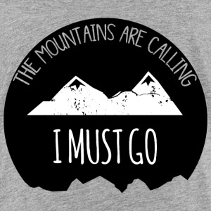 The mountains are calling - Teenage Premium T-Shirt