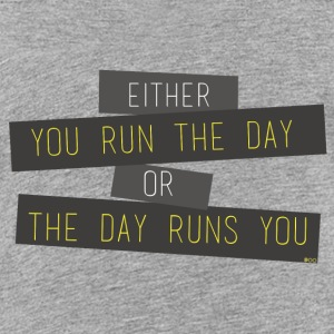 Run the day - T-shirt Premium Ado