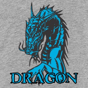 agry zoek dragon - Teenager Premium T-shirt