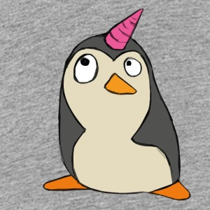 Penguin unicorn - Teenage Premium T-Shirt