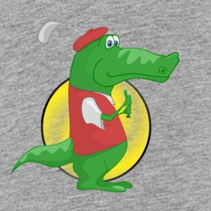 crocodile Alligator - T-shirt Premium Ado
