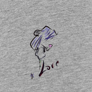Love - Teenage Premium T-Shirt