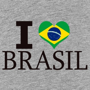 I LOVE BRASIL - Teenager premium T-shirt