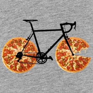 Pizza Bike - Premium-T-shirt tonåring