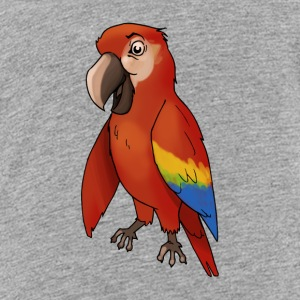Parrot bird birds cage canary finch - Teenage Premium T-Shirt
