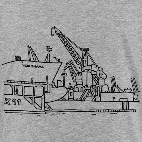 Hamburger Hafen (Dock 11) - Teenager Premium T-Shirt