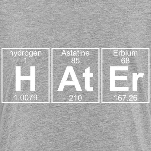 H-At-Er (hater) - Full - Teenage Premium T-Shirt