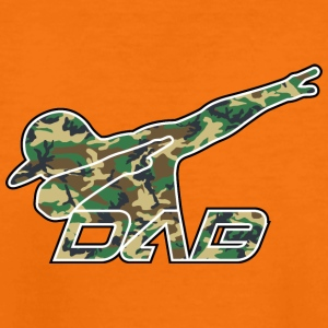 DAB woodland camo - Teenage Premium T-Shirt