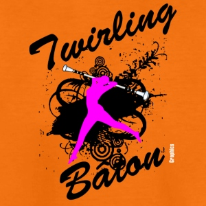 BATON TWIRLING - Teenage Premium T-Shirt