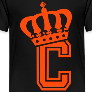 Letter C - Teenage Premium T-Shirt