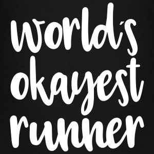 World´s okayest runner - Teenager Premium T-Shirt