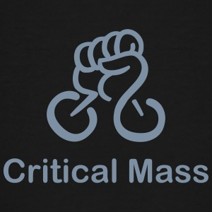Critical Mass organized cyclist's accident - Teenage Premium T-Shirt