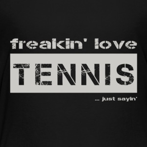 love TENNIS - bright T-shirt - Teenage Premium T-Shirt