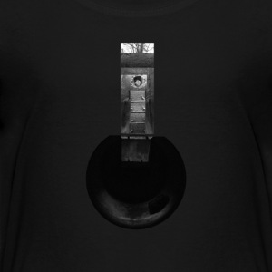 Cylindrical Air Raid Shelter Collage - Teenage Premium T-Shirt